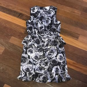 Kate Young Size 6 black and white dress
